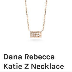 14K Rose Gold Dana Rebecca Diamond Katie Necklace